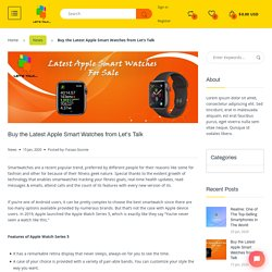 Best Apple Smart Watches