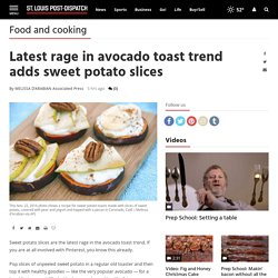 Latest rage in avocado toast trend adds sweet potato slices