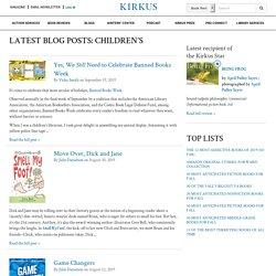 Latest Blog Posts: Children's