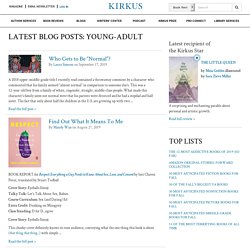 Latest Blog Posts: Young-Adult
