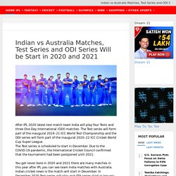 Get Indian Cricket News Online