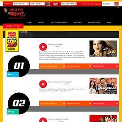 Latest Hindi Bollywood Songs: Mirchi Top 20 Songs, Top 10 Hindi Songs - Radio Mirchi