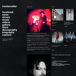 Latest posts | trentemøller