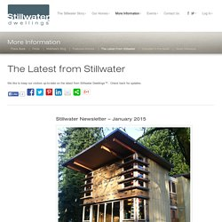 The Latest from Stillwater « Stillwater Dwellings