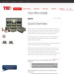 TED Pro Home is latest technology in home energy management