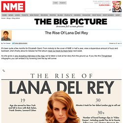 The Rise Of Lana Del Rey - NME Infographics - NME.COM - The world's fastest music news service, music videos, interviews, photos and more