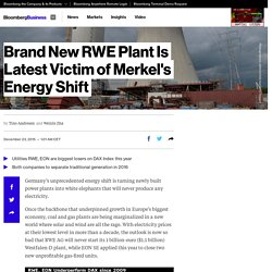Brand New RWE Plant Is Latest Victim of Merkel's Energy Shift