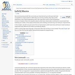 LaTeX/Macros