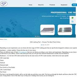 CNC Lathing Part – Choose The Best Parts Online