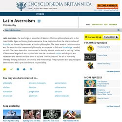 Latin Averroism