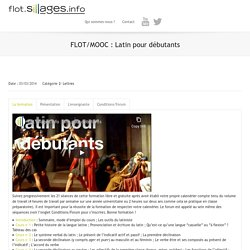 FLOT : Latin pour débutants