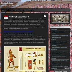 Du latin ludique sur Internet