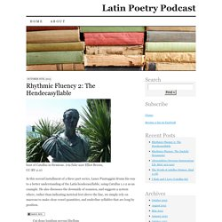 Latin Poetry Podcast