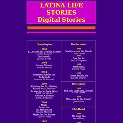 Latina Life Digital Life Stories