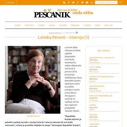 Latinka Perović – intervju (1)