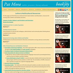 Latino & Multicultural Resources - Pat Mora