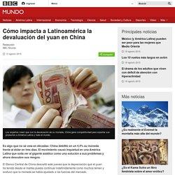 Cómo impacta a Latinoamérica la devaluación del yuan en China - BBC Mundo