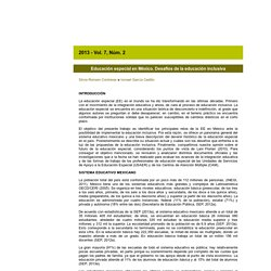 Revista Latinoamericana de Educación Inclusiva 2013 - Vol 7 - Num 2