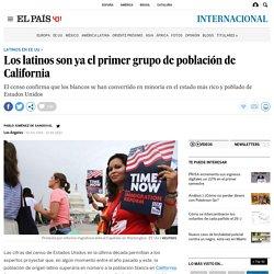 Latinos mayoría California: Los latinos son ya el primer grupo de población de California