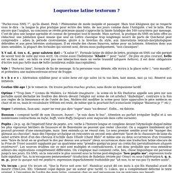latinSMS