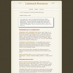 Latinteach Resources