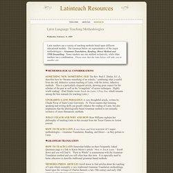 Latinteach Resources