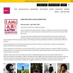 I Am: New Afro-Latinx Narratives — MOLAA
