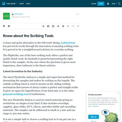 Know about the Scribing Tools: latticegear — LiveJournal