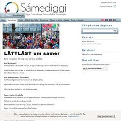 LÄTTLÄST om samer - Sametinget