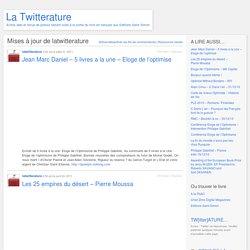 latwitterature « La Twitterature