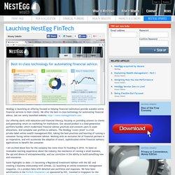 Lauching NestEgg FinTech
