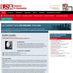 Estée Lauder : Tout savoir sur Estée Lauder, Cofondatrice de la société Estée Lauder Inc.