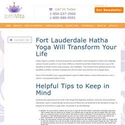 Fort Lauderdale Hatha Yoga JothiVita