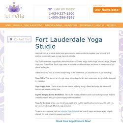 Fort Lauderdale Yoga Studio JothiVita