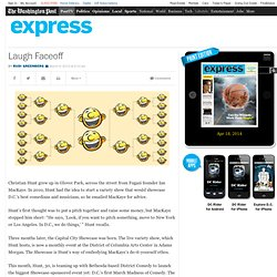 Laugh Faceoff | Washington Post Express