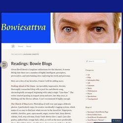 Laughing Gnostic « Bowiesattva