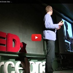 Laughing Our Way to a Better World:Sindre Olav Edland-Gryt at TEDxBarcelonaChange
