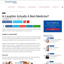 Laughter Benefits- Is Actually a Best Medicine