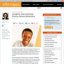 Laughter and Learning: Humor Boosts Retention