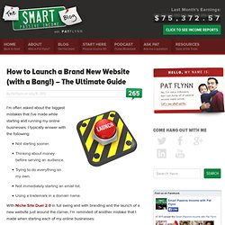 How to Launch a Brand New Website (with a Bang!) – The Ultimate Guide