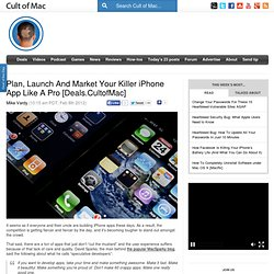 Plan, Launch and Market Your Killer iPhone App Like a Pro [Deals.CultofMac