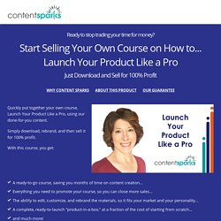 Launch Your Product Like a Pro - Ready to Go Training