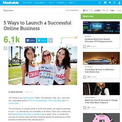 5 Ways to Launch a Successful Online Business