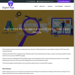 The Steps To Launch A Successful PPC Campaign