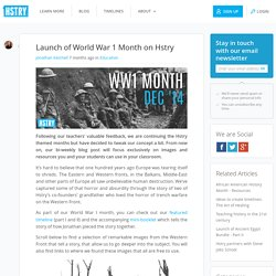 Launch of World War 1 Month on Hstry