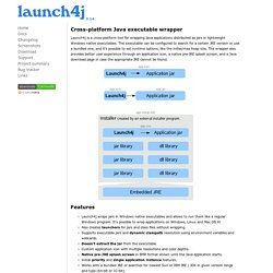 Launch4j - Cross-platform Java executable wrapper