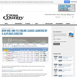 New hike-and-fly online league launched by X-Alps race director