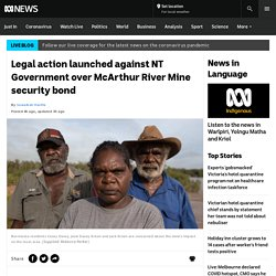 Legal action launched against NT Government over McArthur River Mine security bond