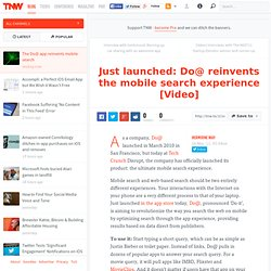 Do@ reinvents the mobile search experience