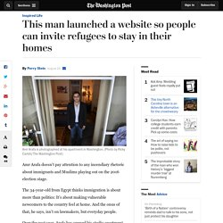 This man launched a website so people can invite refugees to stay in their homes